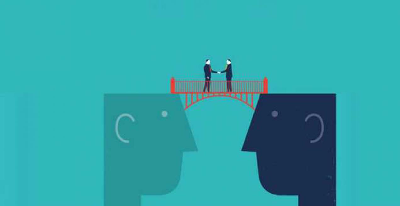 Vertrauen – der Baustoff der Brücken baut im Berufsalltag